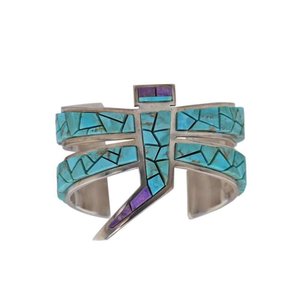 Plain Inlay Dragonfly Bracelet