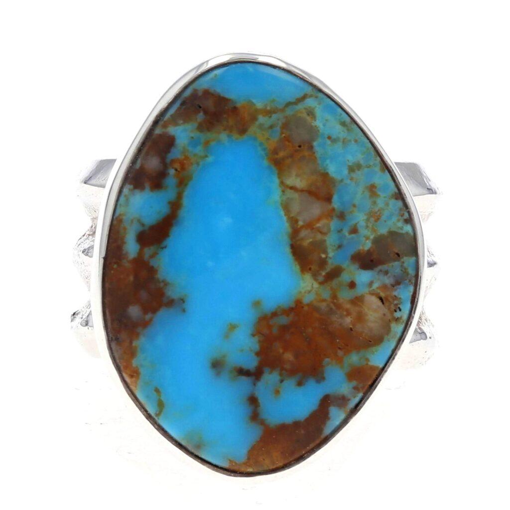 Men's Blue Ridge Turquoise Stone Ring