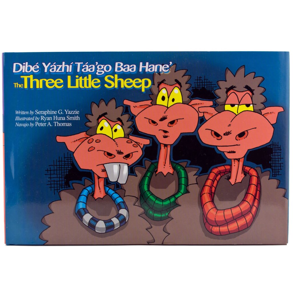 The Three Little Sheep/Dibe Yazhi Taa'go Baa Hane'