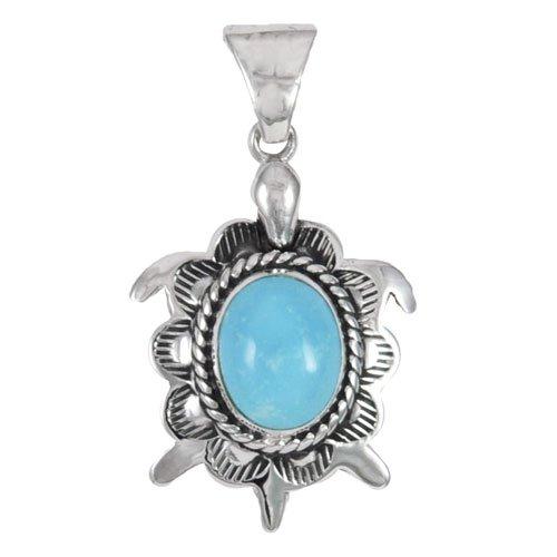 Navajo Turtle Pendant