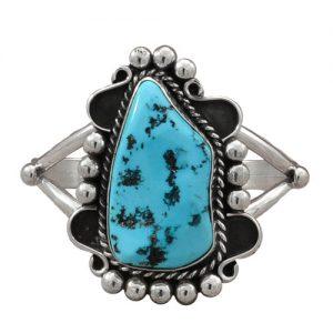 Navajo Freeform Turquoise Bracelet