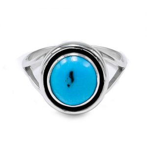 Navajo Circular Shadowbox Ring