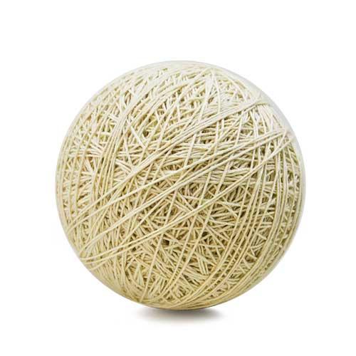 Weaver's Wool Warp Ball