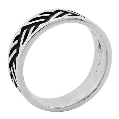 Mountain Cutout Sterling Silver Ring