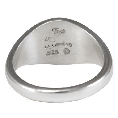 Split Channel Inlay Band Ring