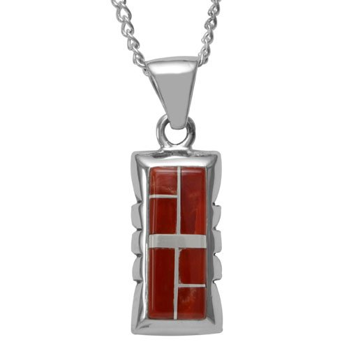 Old Style Navajo Contemporary Inlay Necklace