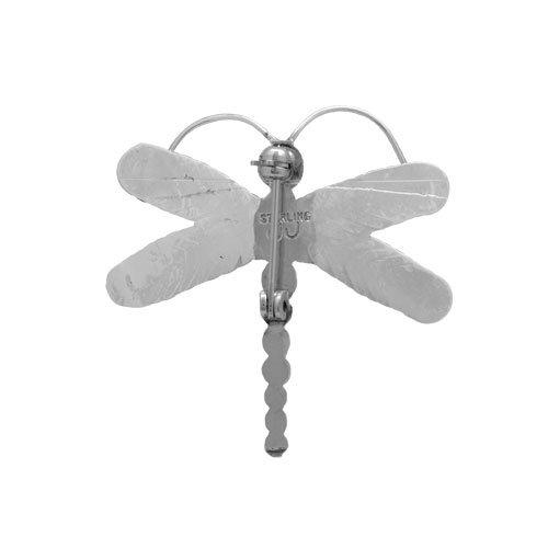 Sterling Silver Dragon Fly Brooch