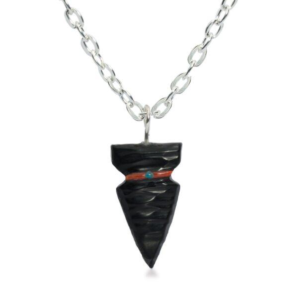 Navajo Arrowhead Fetish Necklace