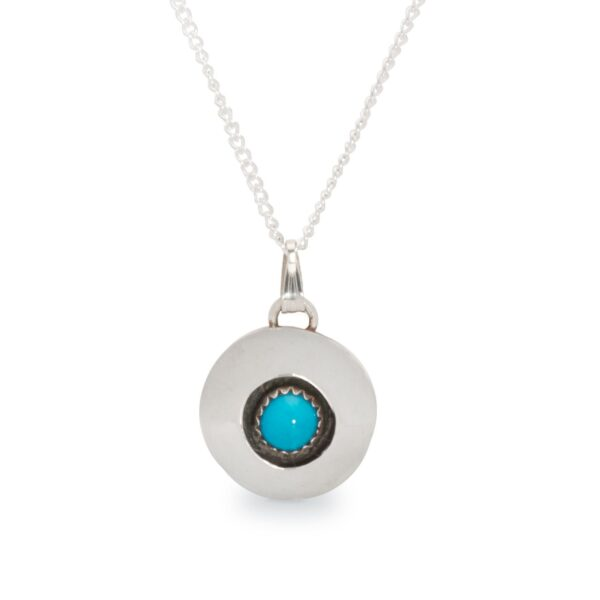Navajo Turquoise Shadowbox Necklace
