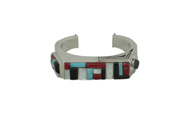 Multi-Stone Cobble and Inlay Bracelets