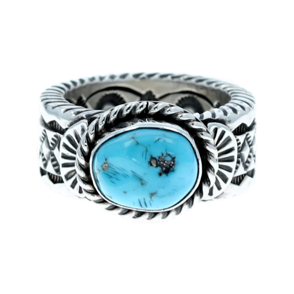 Sterling Silver Navajo Men's Ring