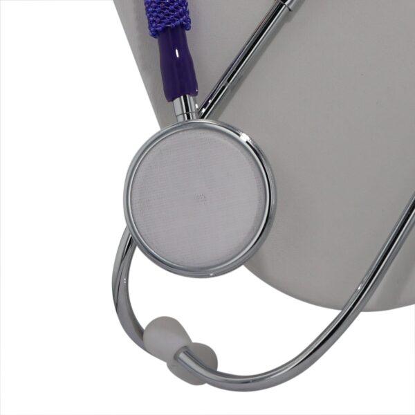 Purple Peyote Beaded Stethoscope