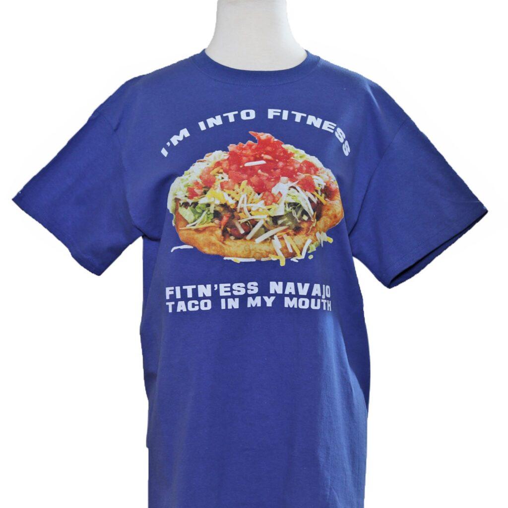 I'm into Fitness Navajo Taco Royal Blue T-Shirt