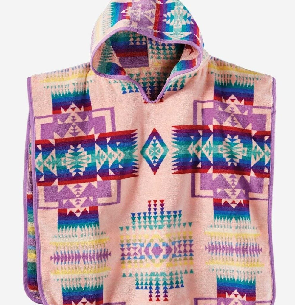 Pink Chief Joseph Baby Hooded Towel